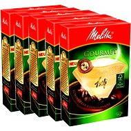 Melitta 1x4/80 Gourmet, 3 + 2 Gratis - Kaffeefilter