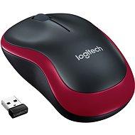 Maus Logitech Wireless Mouse M185 rot - Maus