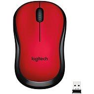 Maus Logitech Wireless M220 Silent, rot - Maus