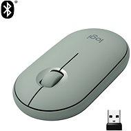 Logitech Pebble M350 Wireless Mouse - eukalyptus - Maus