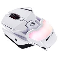 Mad Catz R.A.T. 2+ Weiß - Gaming-Maus