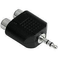 Hama Audio-Adapter 3,5 mm Klinke auf 2 x 3,5 mm Klinke - Adapter