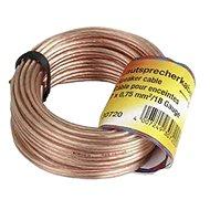 Hama Lautsprecherkabel 2 x 0,75 mm, 10m - Audio Kabel