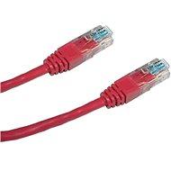 Datacom CAT5 UTP 0,5 m rot - Netzkabel