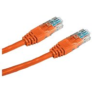 Datacom CAT5E UTP orange 0.5m - Netzkabel