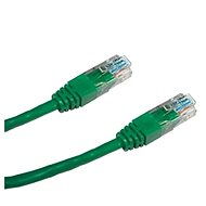 Patchkabel, Datacom, CAT6, UTP, 0,25 m grün - Netzkabel