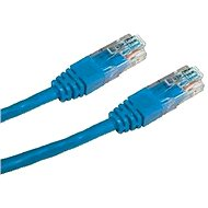 Patchkabel, Datacom, CAT6, UTP, 0.5 m, blau - Netzkabel