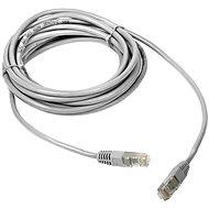DATACOM Patch cord UTP CAT5E 5m Weiß - Netzkabel