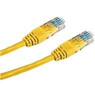 Patchkabel, Datacom, CAT6, UTP, 0,5m, gelb - Netzkabel