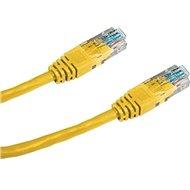 Datacom CAT5E UTP gelb 5m