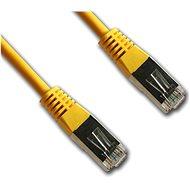 Datacom Netzwerkkabel CAT5e FTP gelb 1 m - Netzkabel
