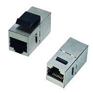 DATACOM Plattenverbinder STP CAT6 2xRJ45 (8P8C) Direkt - Kupplung