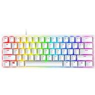 Razer Huntsman Mini Gaming Keyboard - Mercury Ed. (Red Switch) - US Layout - Gaming-Tastatur
