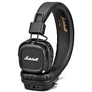Marshall Major II Bluetooth - Schwarz - Kopfhörer mit Mikrofon