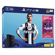 PlayStation 4 Pro 1 TB + FIFA 19 - Spielkonsole