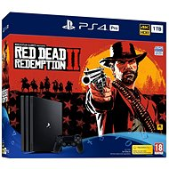 PlayStation 4 Pro 1 TB + Red Dead Redemption 2 - Spielkonsole