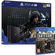 PlayStation 4 Pro 1TB + Death Stranding + Days Gone - Spielkonsole