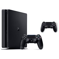 PlayStation 4 Slim 500 GB + 2x DualShock 4 - Spielkonsole