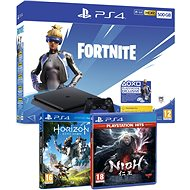 PlayStation 4 Slim 500 GB + Fortnite + Nioh + Horizon Zero Dawn - Spielkonsole