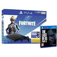 PlayStation 4 Slim 500GB + Fortnite + The Last Of Us Part II - Spielkonsole