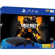 PlayStation 4 1TB Slim + Call of Duty: Black Ops 4 - Spielkonsole
