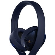 Sony PS4 Gold / Marineblau Wireless Headset - 500M Limited Edition - Gaming Kopfhörer