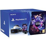 PS4-VR + VR-Spielset The Worlds + PS4-Kamera VR-Brille - VR-Brille