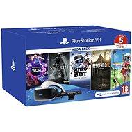 PlayStation VR Mega Pack 2 (PS VR + Kamera + 5 Spiele) - VR-Headset