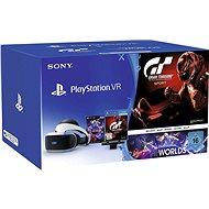 PlayStation VR pro PS4 + VR Worlds + GT Sport + PS4 Kamera - VR-Brille