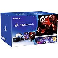 PlayStation VR für PS4 + VR Worlds + GT Sport + PS4 Kamera - VR-Brille