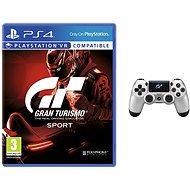Gran Turismo Sport + DS4 Sport-GT-Fahrer - Spiel für die Konsole