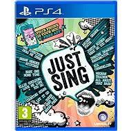 Just Sing - PS4 - Konsolenspiel