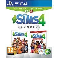 Die Sims 4: Cats and Dogs Bundle (Vollspiel + Erweiterung) - PS4 - Konsolenspiel