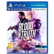 Blood and Truth - PS4 VR - Konsolenspiel