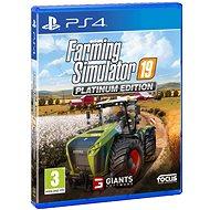 Farming Simulator 19 Platinum Edition -PS 4 - Konsolenspiel