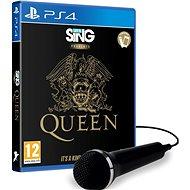 Lets Sing Presents Queen + Mikrophone - PS4 - Konsolenspiel