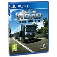 On The Road Truck Simulator - PS4 - Konsolenspiel