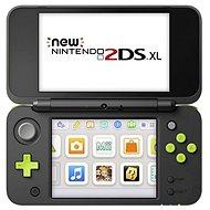 Nintendo NEW 2DS XL Black & Lime Green + Mario Kart 7 - Spielkonsole