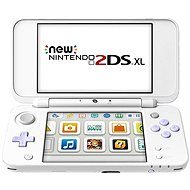 Nintendo NEW 2DS XL White & Levander Green + Tomodachi Life - Spielkonsole