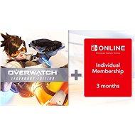 Overwatch Legendary Edition + 3 Months Online individual membership - Nintendo Switch Digital - Konsolenspiel