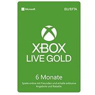 Xbox Live Gold - 6 Monate Mitgliedschaft - Prepaid-Karte