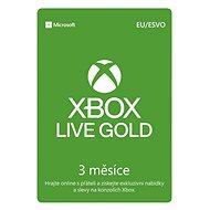 Xbox Live Gold - 3 Monate Mitgliedschaft - Prepaid-Karte