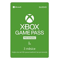 Xbox Game Pass - 3 Monate Abonnement - Prepaid-Karte