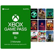 Xbox Game Pass - 3 Monats Abonnement (für PCs mit dem Betriebssystem Windows 10) - Prepaid-Karte
