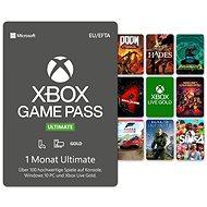 Xbox Game Pass Ultimate - 1 Monats-Abonnement - Prepaid-Karte
