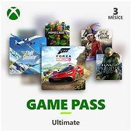 Xbox Game Pass Ultimate - 3 měsíční předplatné - Dobíjecí karta