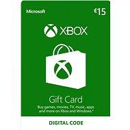 Xbox Live Geschenkkarte im Wert von 15 Eur - Prepaid-Karte