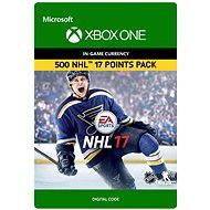 NHL 17: Ultimate Team NHL Points 500 DIGITAL - Konsolenspiel