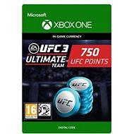 UFC 3: 750 UFC Points - Xbox One Digital - Herní doplněk