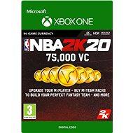NBA 2K20: 75,000 VC - Xbox One Digital - Gaming Zubehör